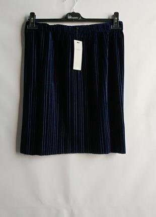 Плиссированная юбка датского бренда moves minimum, xl