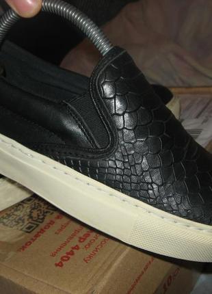Кеды кроссовки слипоны tommy hilfiger оригинал кожа размер 37 по стельке 24 см