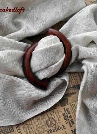 Брошь-пряжка (зажим) для палантина, шарфа или платка