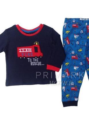 Трикотажная пижама для мальчика (86 см) primark
