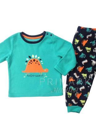 Флисовая пижама для мальчика (86 см) primark