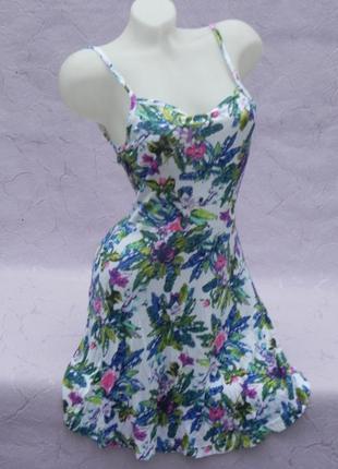 Платье сарафан короткое h&m