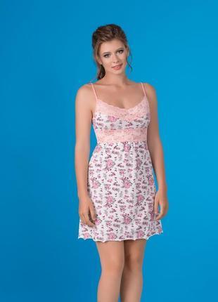Большой выбор!ночная рубашка от тм marsana с цветочным принтом ... 387dfc5160060
