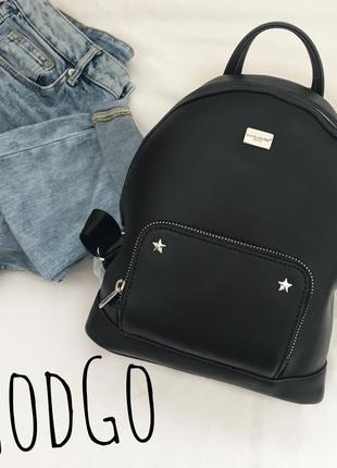 Оригінальний рюкзак david jones чорного кольору