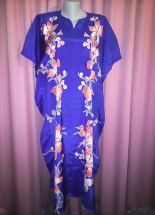 Вискозное домашнее платье