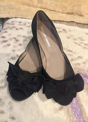 Балетки туфли,натуральный замш.новые