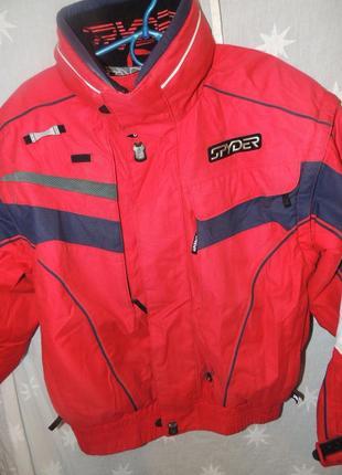 Професиональная горнолыжная куртка spyder  20000mm, мембранная 48-50