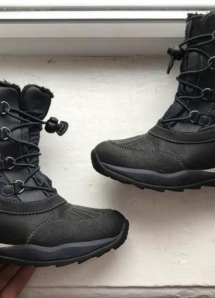 Geox amphibiox 34p детские сапоги ботинки сапожки оригинал