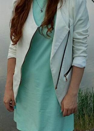 Нарядный комплект платье и пиджак