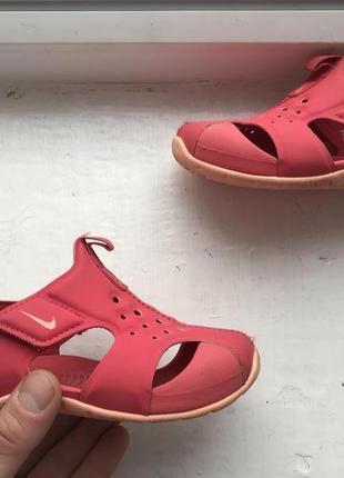Nike 25p детские босоножки шлепанцы сандали 25р оригинал