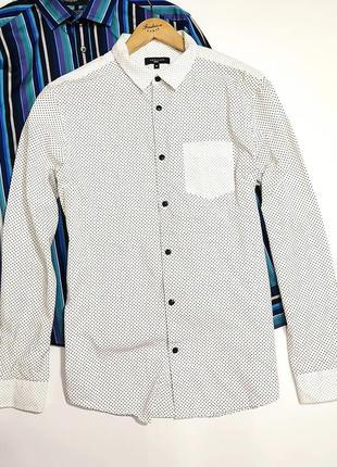 ❤️ очень стильная коттоновая рубашка в гороx