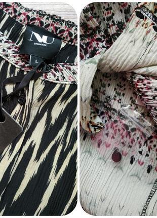 Симпатичная плиссированная блузочка фирмы nu denmark2