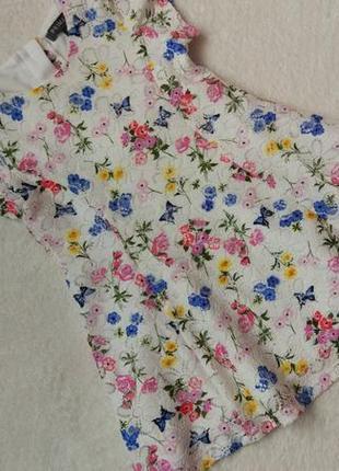 Big sale! новое роскошное платье primark на 9-12 мес