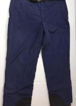 Columbia. лыжные штаны большого размера. батал. есть нюанс.