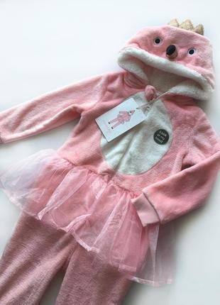 Кигуруми пижама для девочек 4-5, 5-6, 7-8 лет primark.