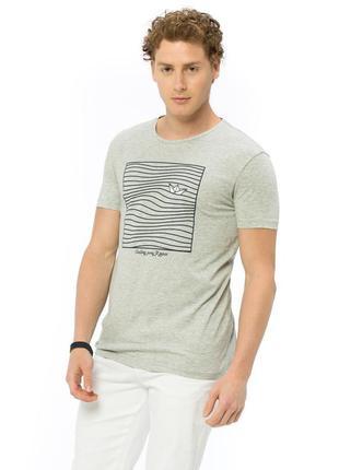 Мужская футболка турецкий бред lc waikiki 16172