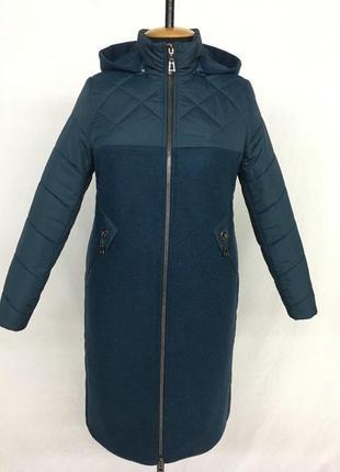 Пальто кашемир +плащёвка ,шикарное качество,50пр 60 размеры .