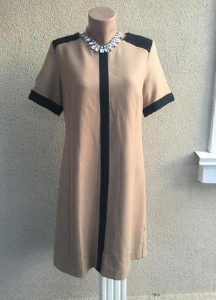 Красивое платье,туника next,прямого кроя из плотной ткани,без подкладки,