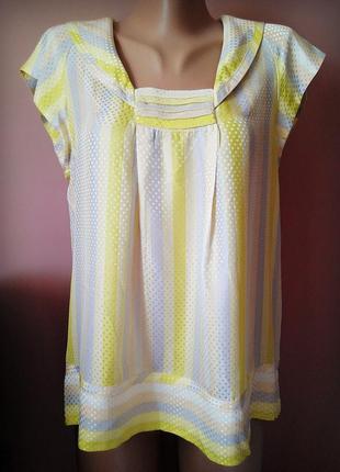 Обалденная шелковая блуза marc by marc jacobs