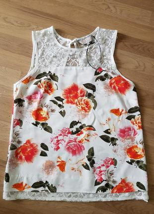 Яскрава стильна блузка 12розмір billie & blossom від dorothypercins