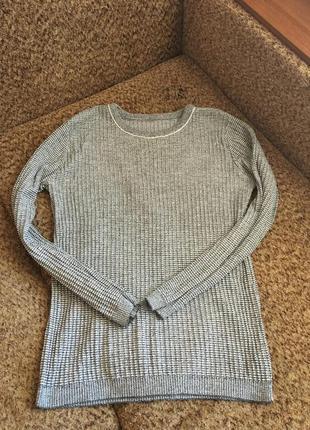 Базовый серый свитерок