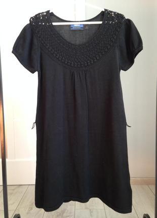 Теплое платьице дорогого бренда 100% котон/ брэндовые вещи - доступные цены!!!