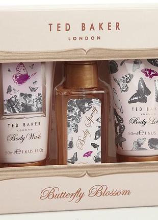 Роскошный подарочный набор batterfly blossom от ted baker london