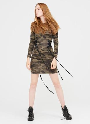 Стильное платье хаки cropp