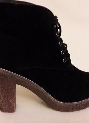 Стильные деми  ботинки фирмы bonprix ( германия) р. 39 стелька 25,5 см