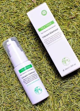 Противовоспалительный спрей для лица tea tree anti acne face spray vibrant glamour