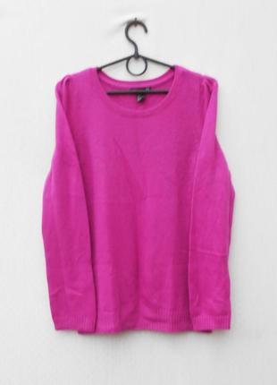 Зимний осенний вязаный свитер 17% ангоровый с длинным рукавом
