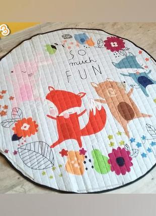 Детский коврик. коврик-мешок для ребенка.