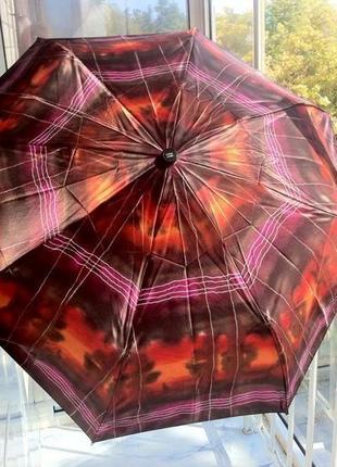 Красивый шелковый зонт ☂ 🌂. ☔️. зонтик.