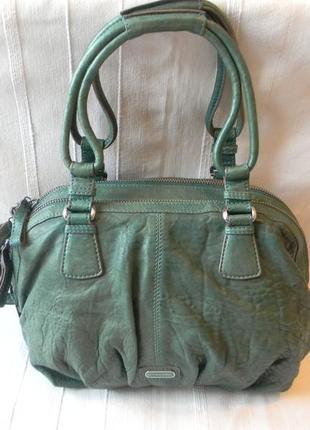 Кожаная сумка sportmax