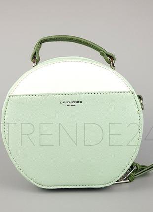 Бесплатная доставка #5916-1 pale green david jones женский круглый  клатч!