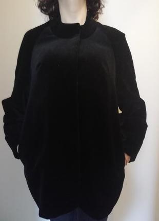 Стильная бархатная куртка ricco