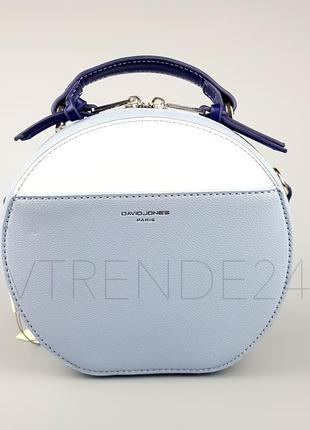 Бесплатная доставка #5916-1 l. blue david jones женский круглый клатч