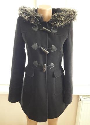 Пальто с капюшоном select