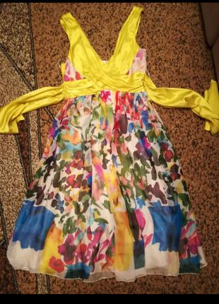 Новое красивое летнее платье/сарафан 36 размер