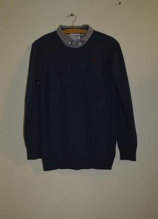 Джемпер кофта обманка с рубашкой для мальчика jasper conran (джаспер конран )