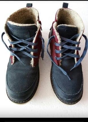 Теплые замшевые ботинки фирмы  вebendor ff.