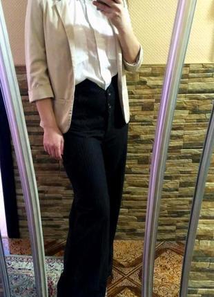 Шикарные шерстяные брюки,размер м-л