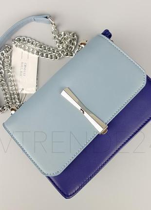 Бесплатная доставка #5015 blue david jones шикарный клатч на цепочке!
