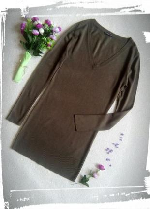 Довгий пуловер