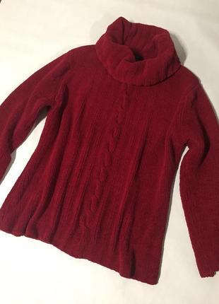 Шикарный тёплый свитер с горловиной, originals
