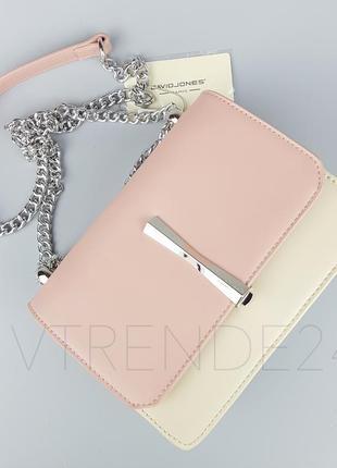 Бесплатная доставка #5015 pink david jones шикарный клатч на цепочке