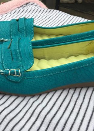 Мокасины туфли балетки 40-41 размер