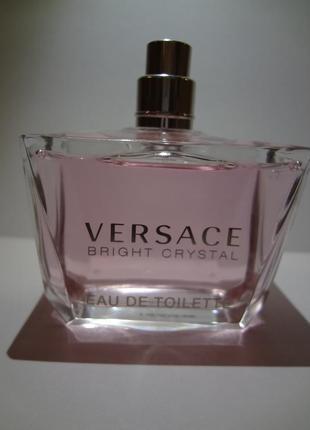 Versace bright crystal туалетная вода 90 ml тестер