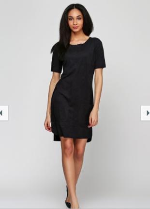 Платье черное с эффектом замши, esmara, германия