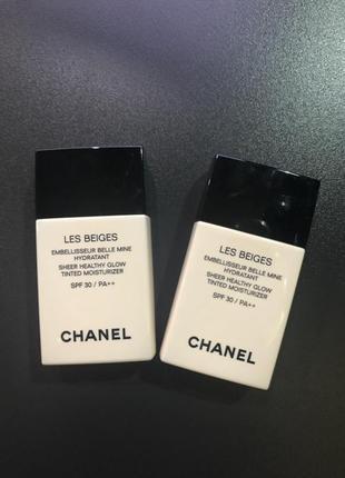 Chanel les beiges увлажняющий оттеночный флюид